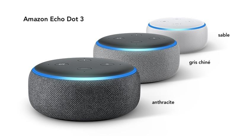 echo dot 3 test avis design