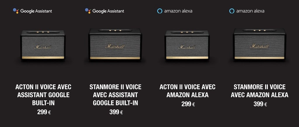 Marshall acton 2 voice google assistant