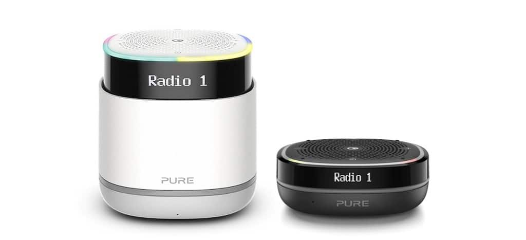 pure streamr et pure streamr splash Alexa enceinte