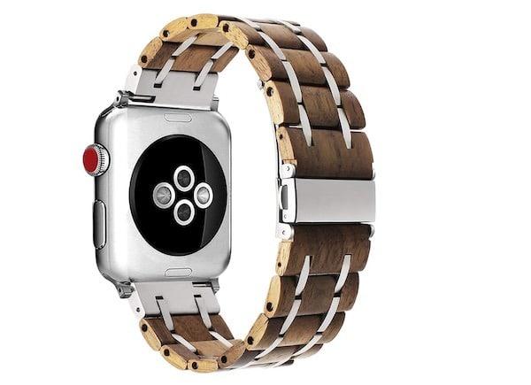bracelet bois apple watch 42