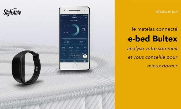 Bultex e-bed avis test : le matelas connecté pour mieux dormir