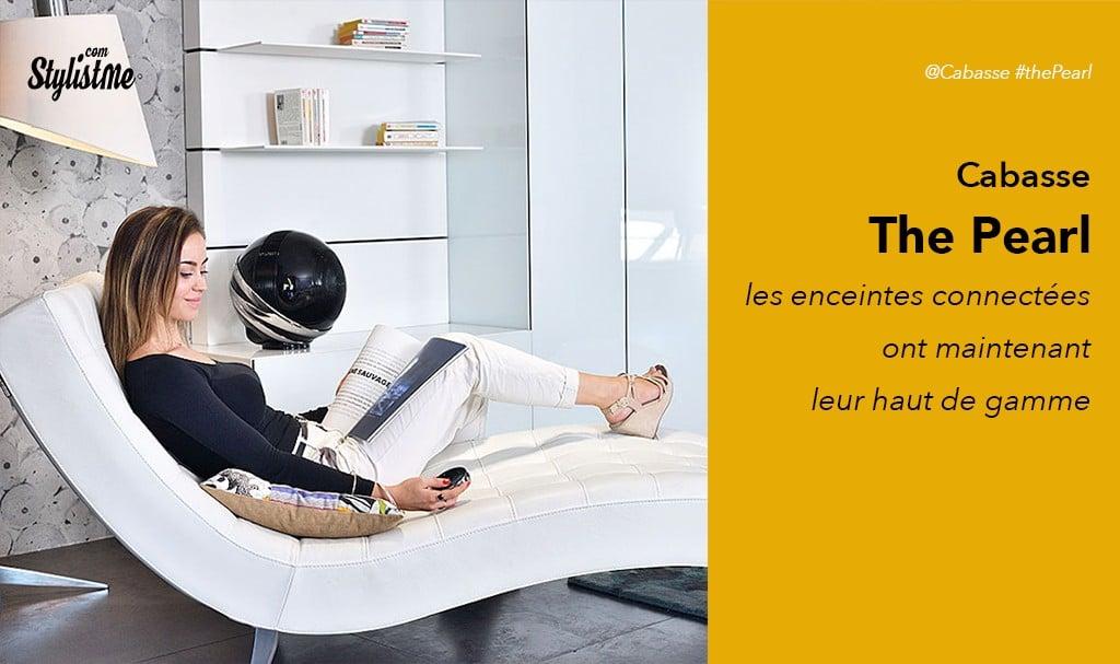 Cabasse Pearl avis test enceinte connectée bretonne Google Assistant