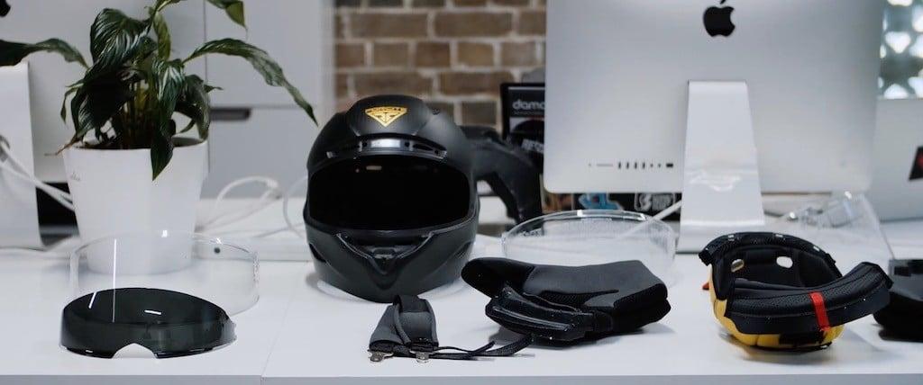 comparatif casque connecté Forcite MK1