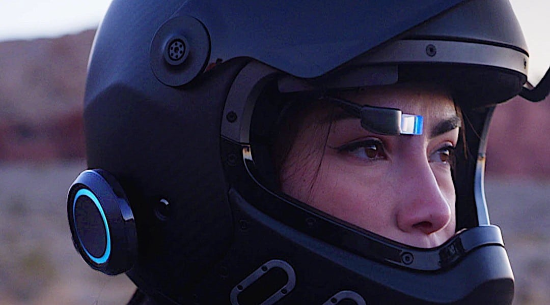 eyeride casque moto connecte test avis prix