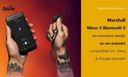 Marshall Minor II avis test des écouteurs au son HiFi en Bluetooth 5