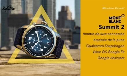 Montblanc summit 2 avis test de la montre connectée la plus classe