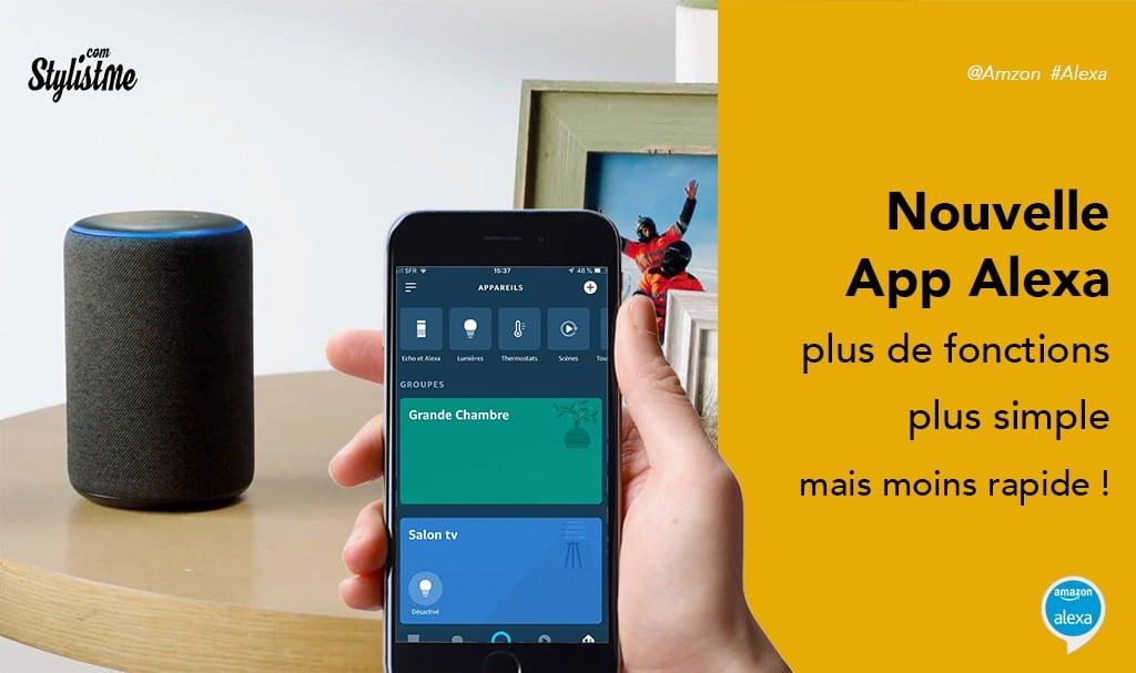 Nouvelle app Alexa disponible en France