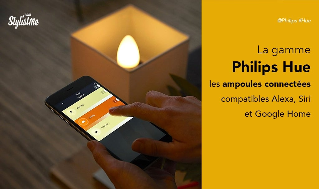philips hue avis test ampoules connect es google home alexa homepod. Black Bedroom Furniture Sets. Home Design Ideas