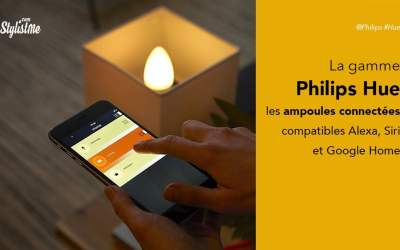 Philips Hue avis test ampoules connectées Google Home Alexa HomePod