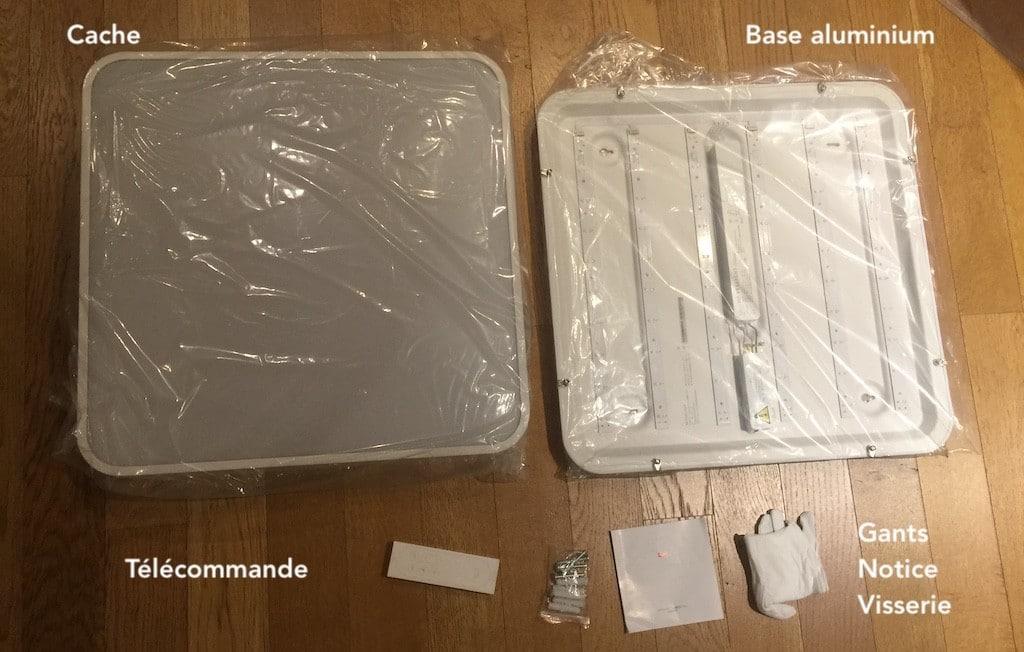 Yeelight Smart Square LED avis test unboxing