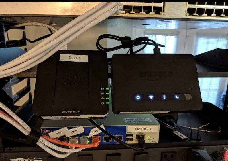 Amazon Echo Connect prix avis test voip