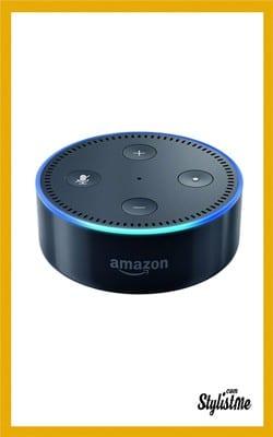 Cadeaux Noël 2018 high tech idées Amazon Echo dot 2 enceinte vocale