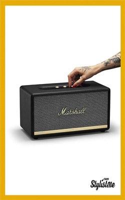 Cadeaux Noël 2018 high tech idées Marshall Acton 2 Voice Alexa enceinte