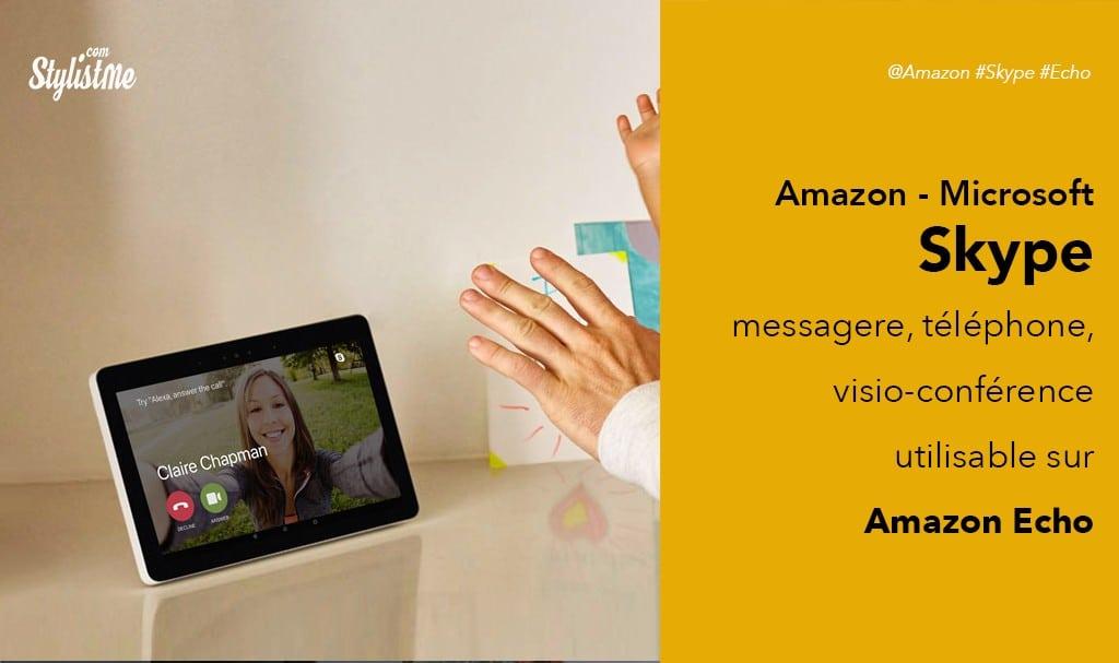 Comment utiliser Skype avec Amazon Echo