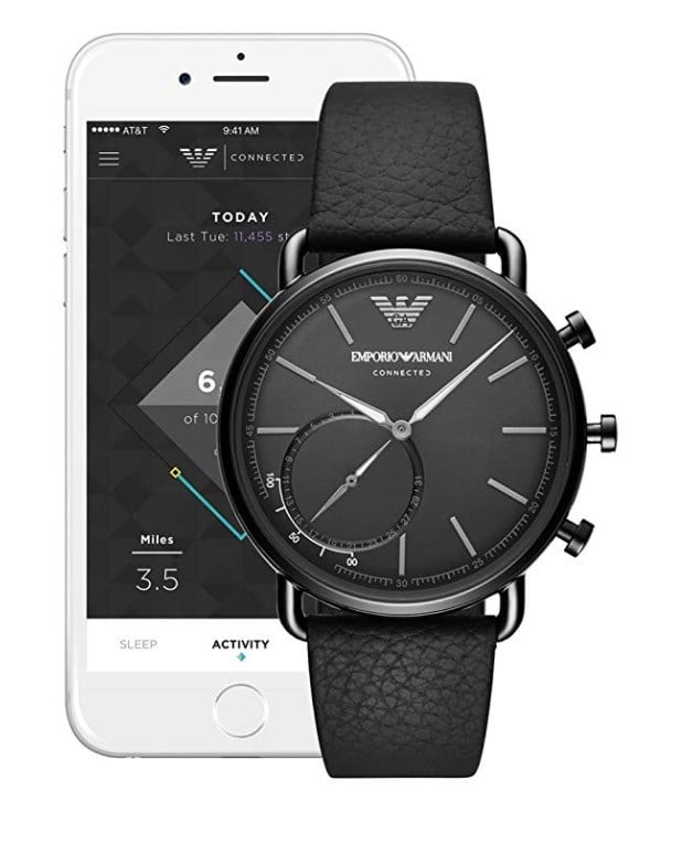 Emporio Armani connected avis test prix application