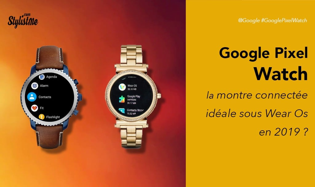 Google Pixel Watch prix avis test date de sortie : la montre connectée Wear Os idéale ?