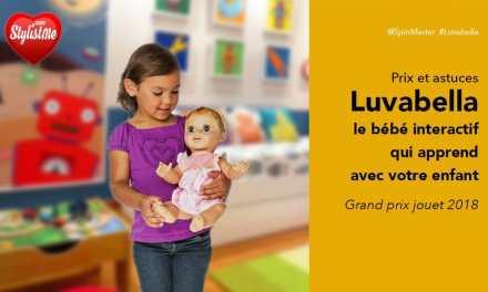 Luvabella prix avis accessoires : la poupée numéro 1 pour Noël 2018