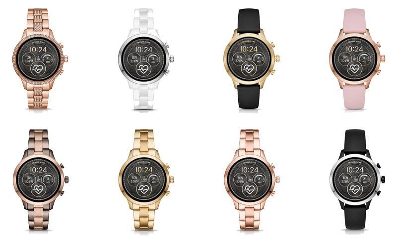 meilleures montres connectées sous Wear Os Michael Kors