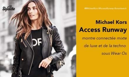 Michael Kors Access Runway prix test avis montre luxe connectée Wear Os