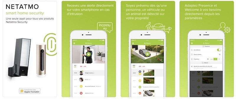 Netatmo détecteur de fumée connecté app netatmo security