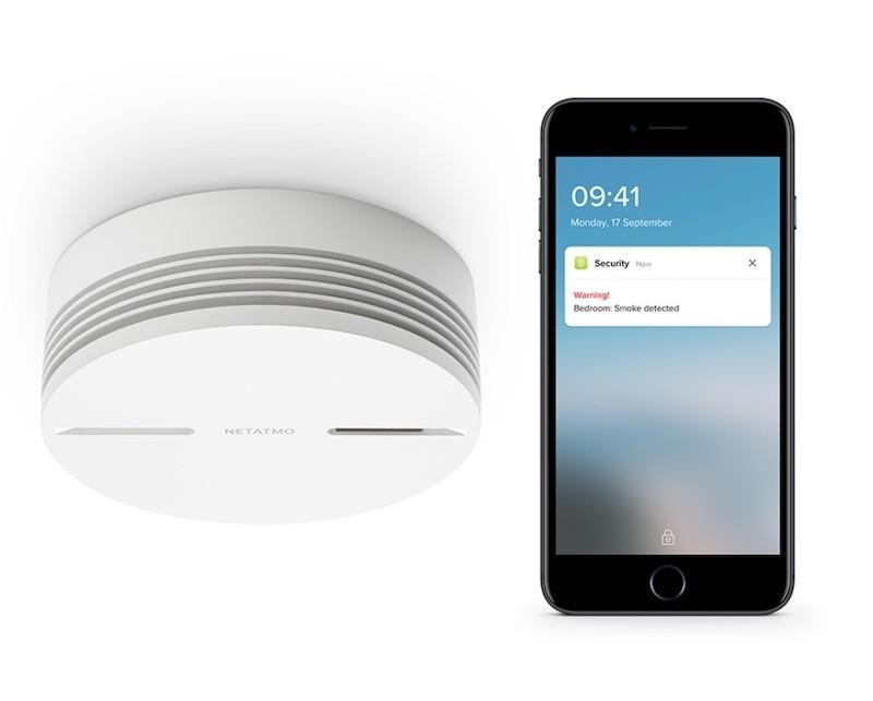Netatmo détecteur de fumée connecté prix avis test app