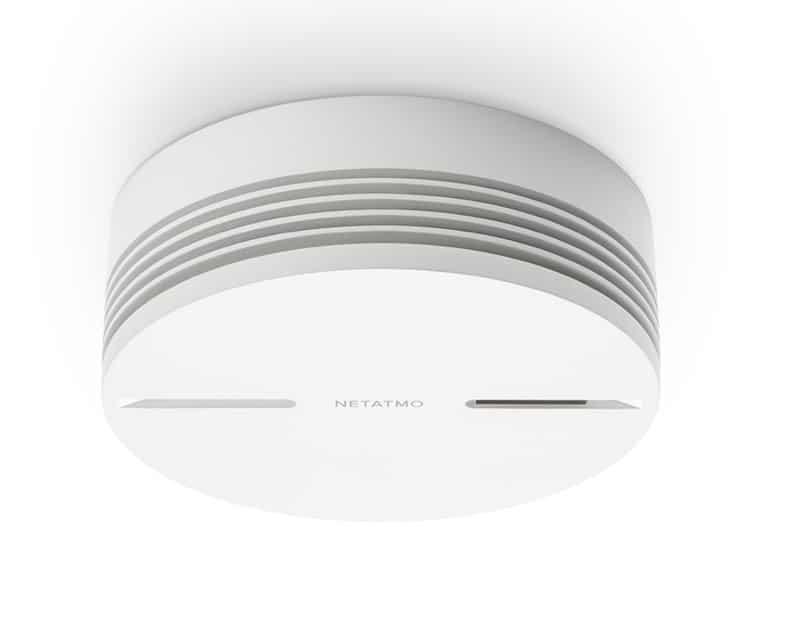 Netatmo détecteur de fumée connecté prix avis test design