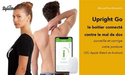 Upright Go avis test prix du correcteur de posture connecté mal de dos