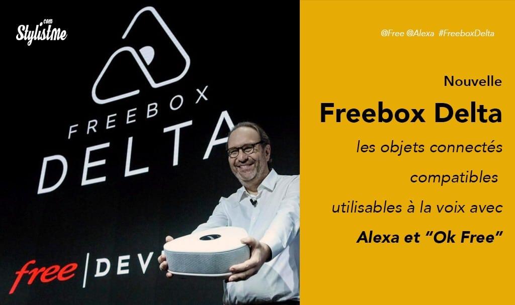 Appareils compatibles Freebox Delta v7 maison et objets connectés