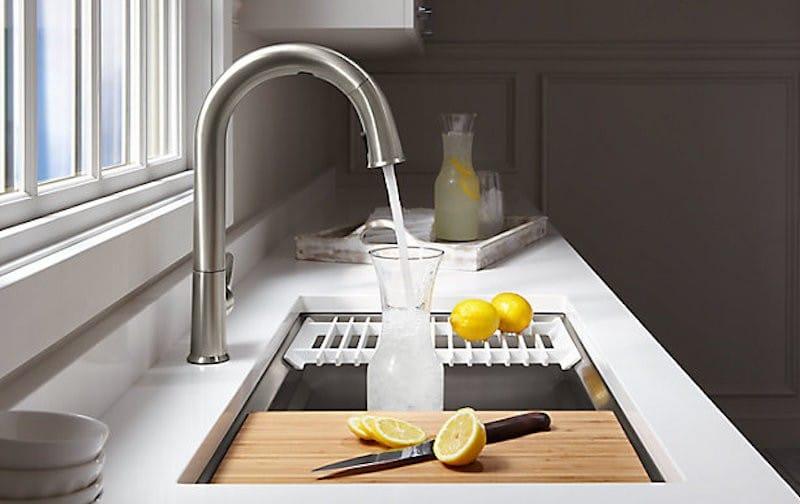 CES 2019 nouveautés Sensate faucet KOHLER robinet google home alexa homekit
