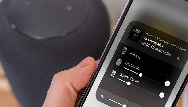 Comment ajouter des enceintes Sonos à HomePod multiroom