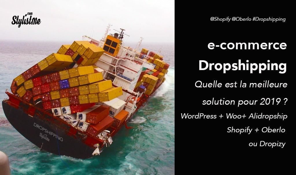 Dropshipping la meilleure solution ecommerce : WordPress, Shopify ou Dropizi