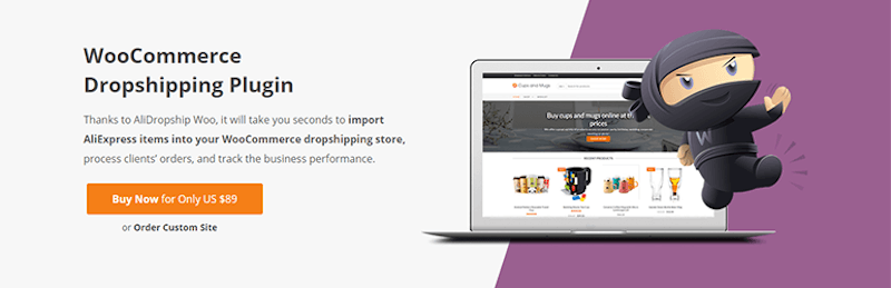 dropshipping wordpress alidropship woocommerce