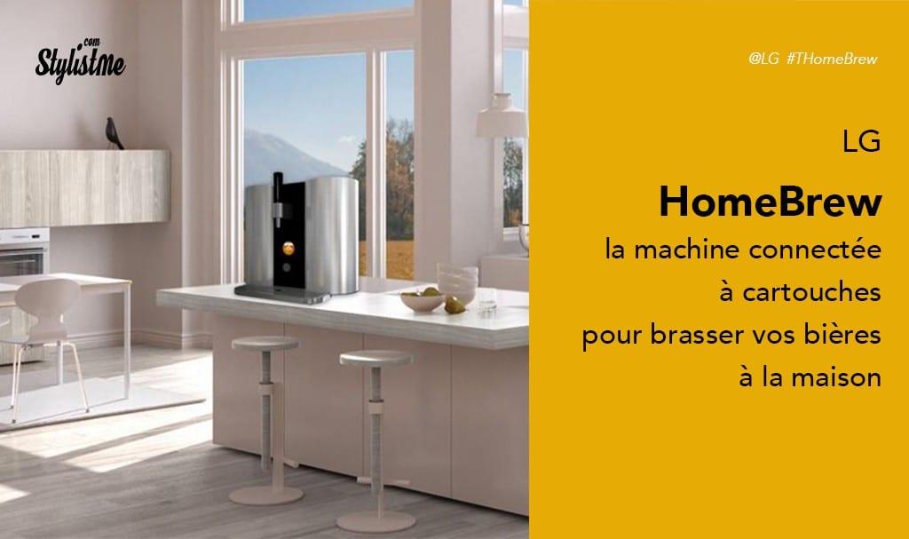 LG HomeBrew avis prix test la machine à capsules pour brasser vos bières