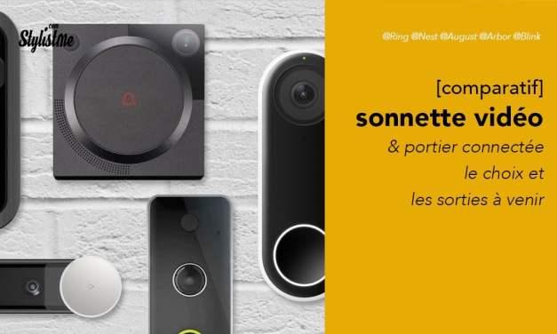 Comparatif portier vidéo connecté avis test prix 2019