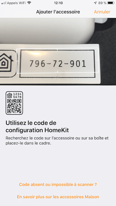 Koogeek capteur ouverture avis prix test ajout HomeKit 3