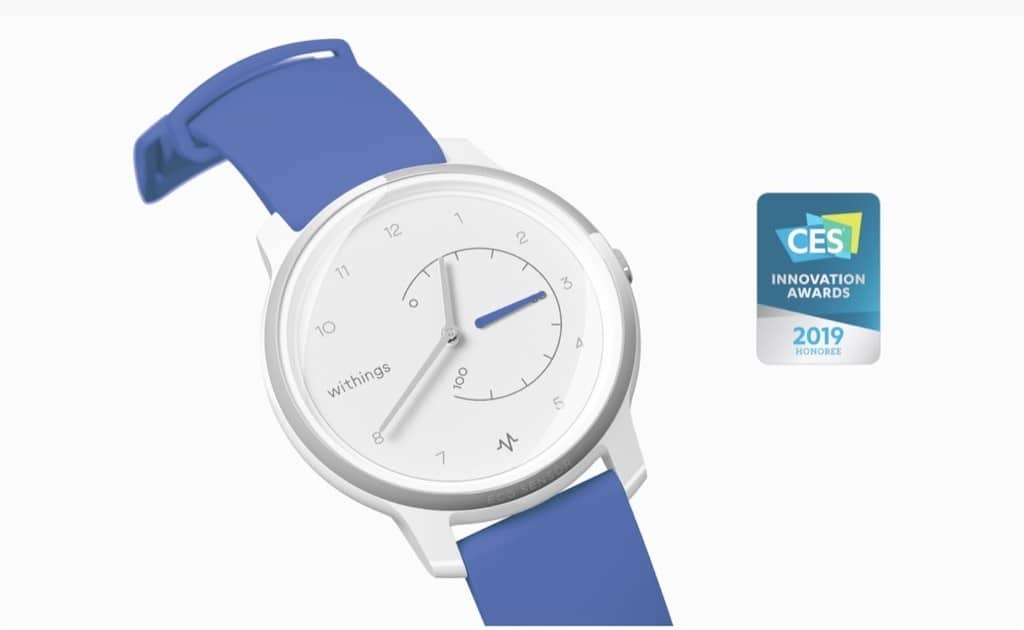 Move ECG Withings prix avis test design CES 2019