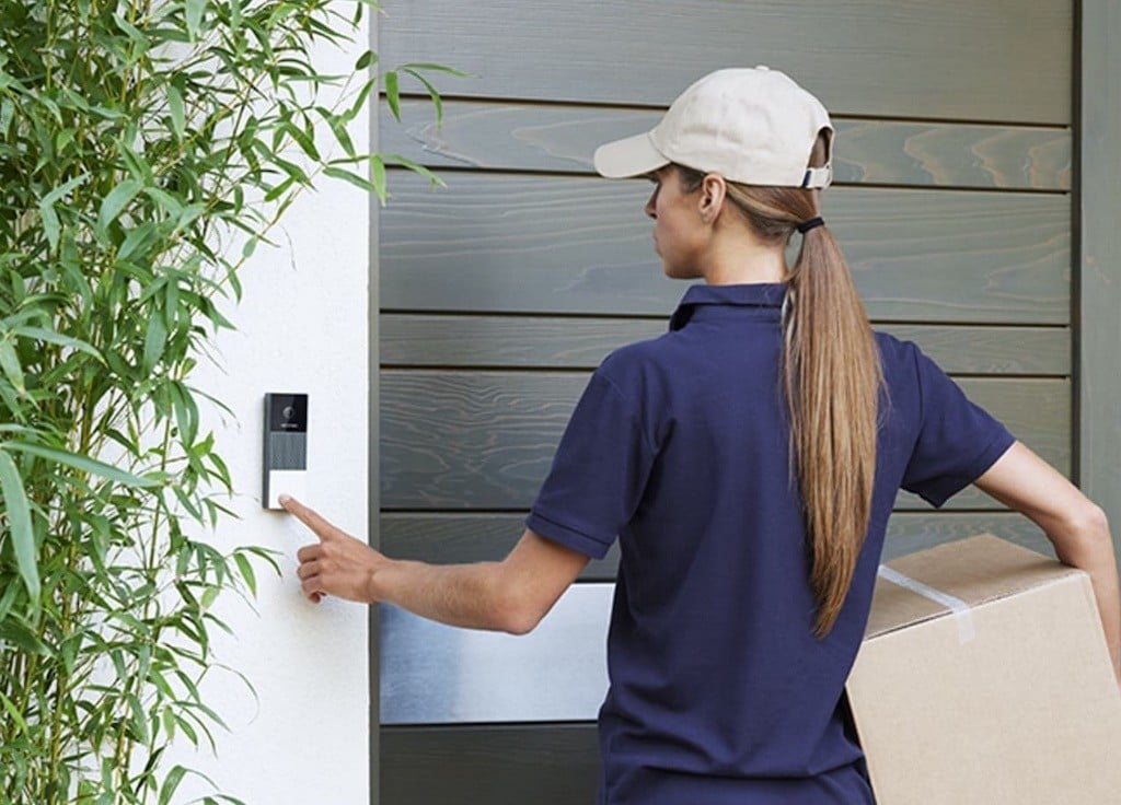 Netatmo Smart Video Doorbell prix avis sonnette vidéo connectée HomeKit 1