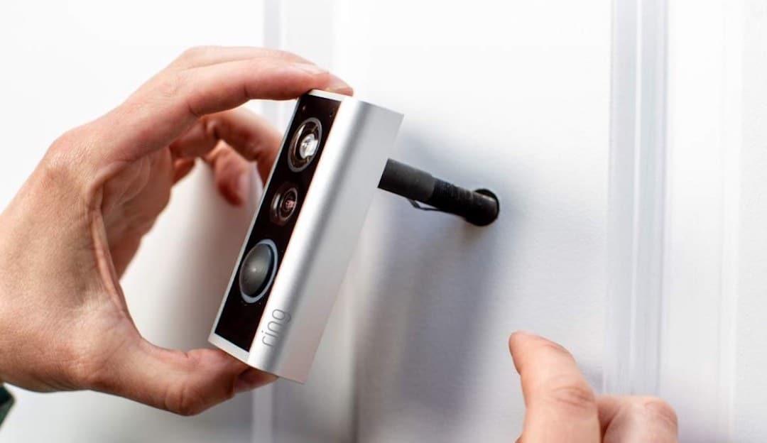 Ring Door View Cam meilleure sonnette vidéo pour appartement
