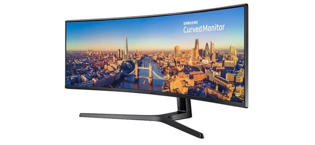 Samsung CRG9 avis test prix 49 pouces incurvé QHD design