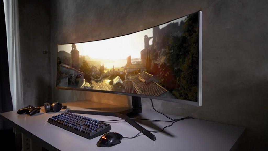 Samsung CRG9 avis test prix 49 pouces incurvé QHD résolution