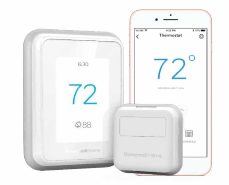 Thermostat Honeywell T9 capteur température prix avis test app