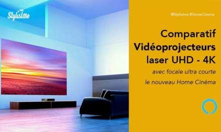 Vidéoprojecteur laser ultra courte focale comparatif  2019 prix avis test