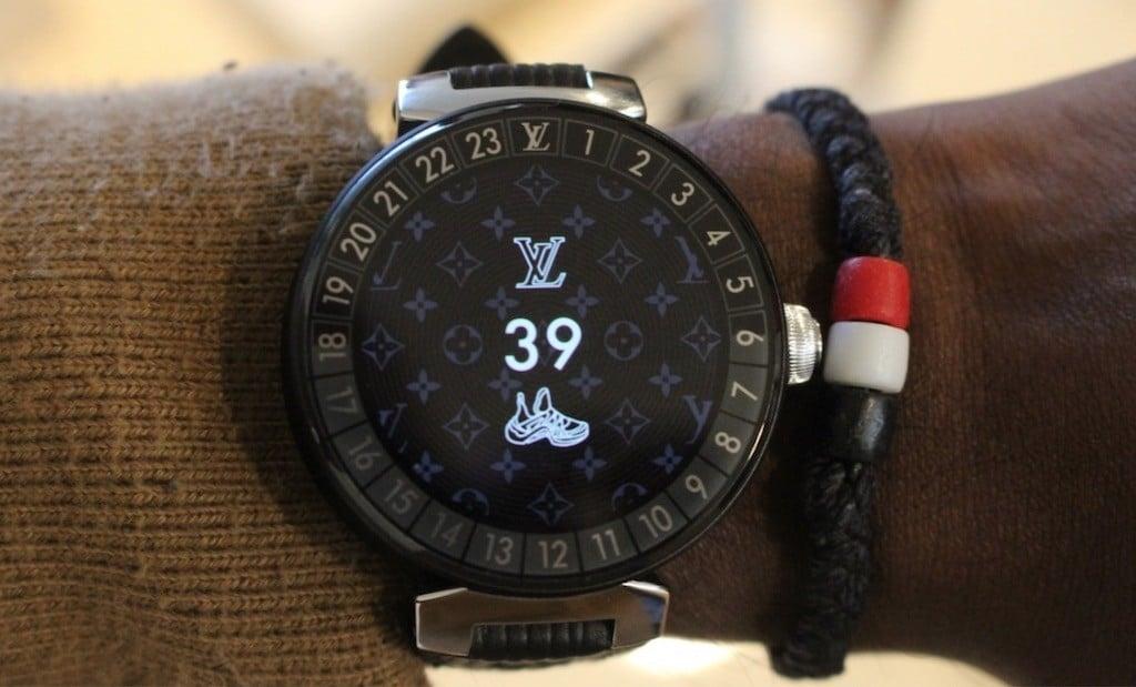 montre connectée louis vuiton tambour horizon