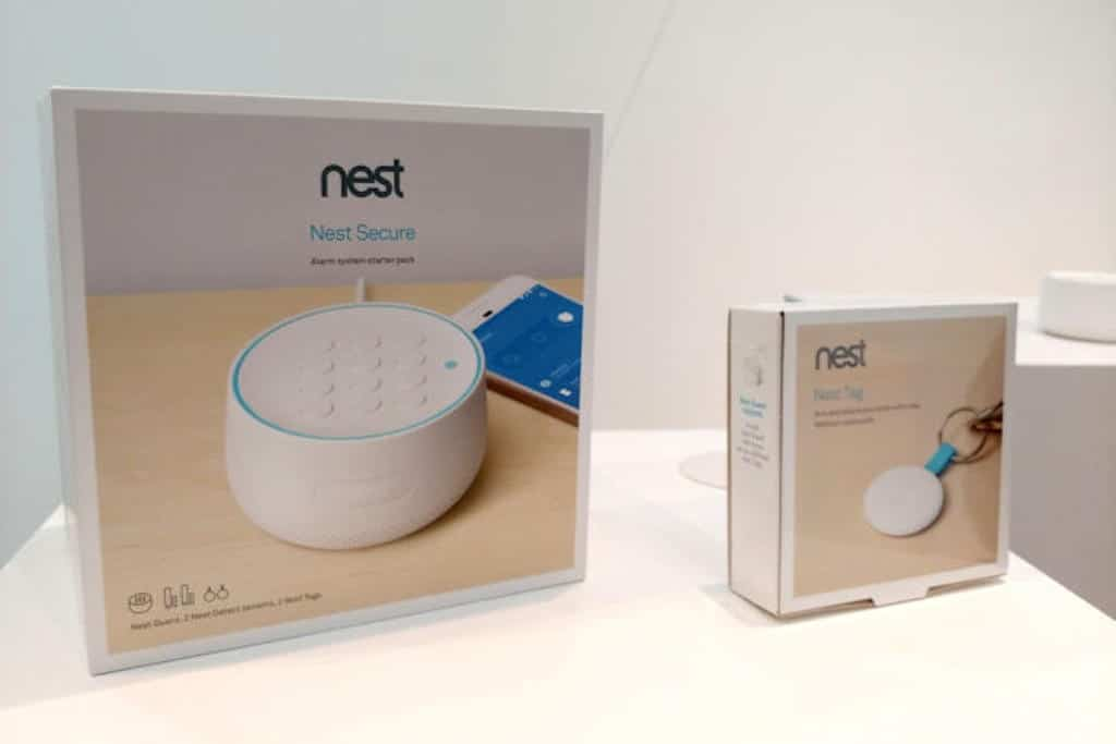 nest secure nest tag unboxing
