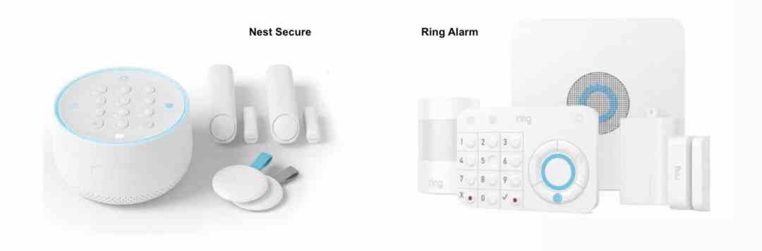 nest secure ou ring alarm