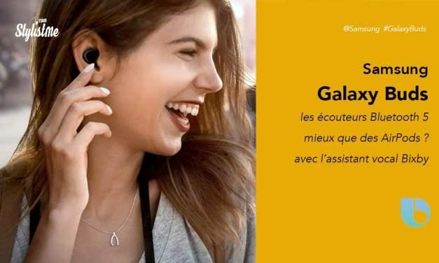 Samsung Galaxy Buds prix avis test les écouteurs numéro 1