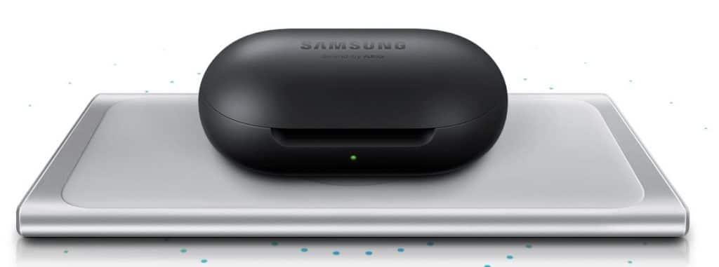 Samsung Galaxy Buds prix avis test recharge induction S10