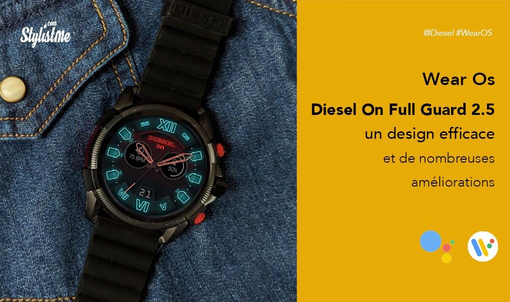 Diesel On Full Guard 2.5 prix avis test montre connectée sous Wear Os