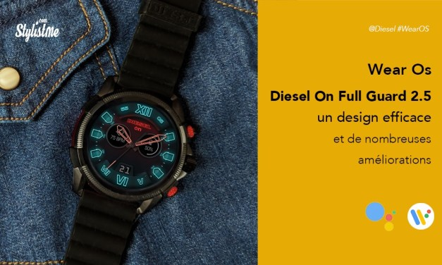 Diesel On Full Guard 2.5 prix avis test montre connectée sous Wear Os