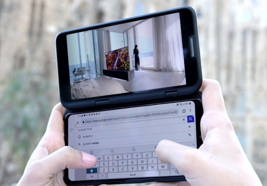 LG V50 ThinQ 5G smartphones compatibles 5G